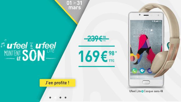 Promotions chez Wiko