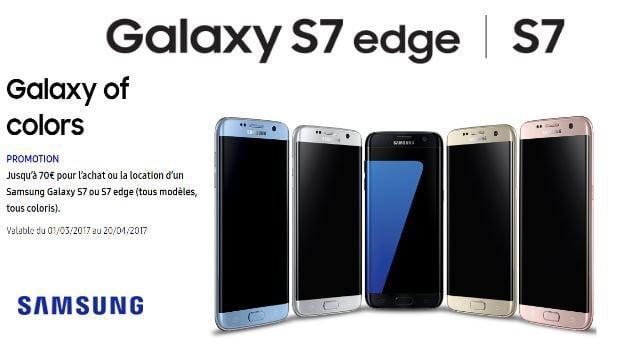 Promotions chez Samsung
