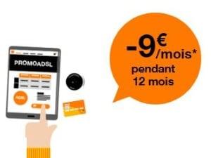 Orange : baisse de prix sur les offres Internet ADSL
