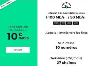 Abonnement Internet à petit prix chez RED by SFR