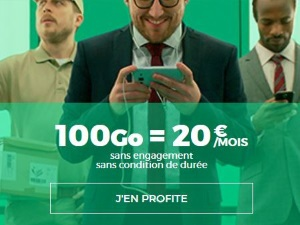 RED : forfait data 100 Go pas cher