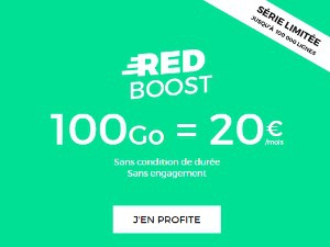 Forfait data RED
