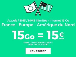 REd by SFR : forfait roaming à 15 euros