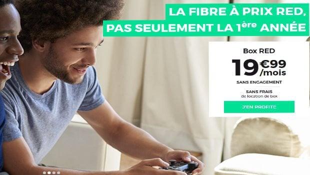 RED Box Internet à 19,99€/mois, quelle que soit la techno