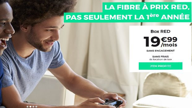 RED Box Internet à 19,99€/mois, quelle que soit la techno