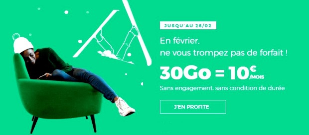 Forfait pas cher RED by SFR