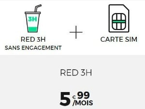 Forfait RED 3h