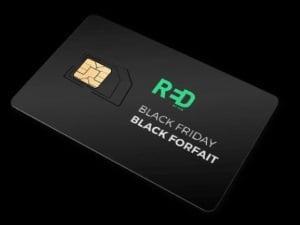 RED by SFR : série spéciale data illimitée pour le Black Friday