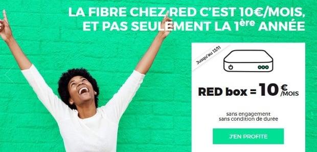 Souscrire une offre Internet à petit prix RED