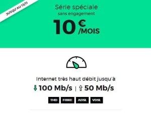 Offre Internet pas chère RED by SFR