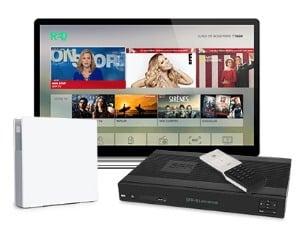 RED Fibre : option TV