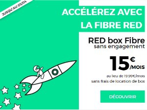 RED : offre Internet en promo