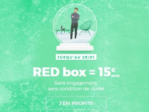 Internet : l'offre RED fibre