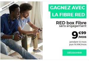 RED : box Internet dès 9,99€/mois