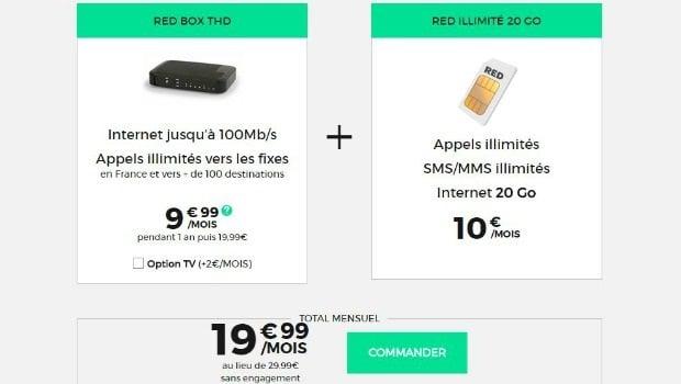 RED internet + mobile à petit prix
