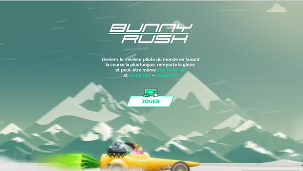 Le jeu Bunny Rush