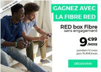 Box + Mobile RED à moins de 20 euros