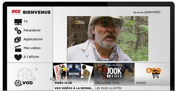 Un accès à la TNT en HD et à des services de SVOD, de Replay TV…