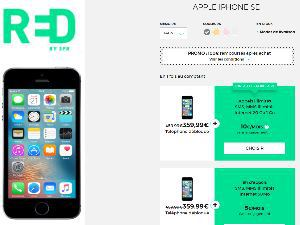 RED by SFR iPhone SE en promo