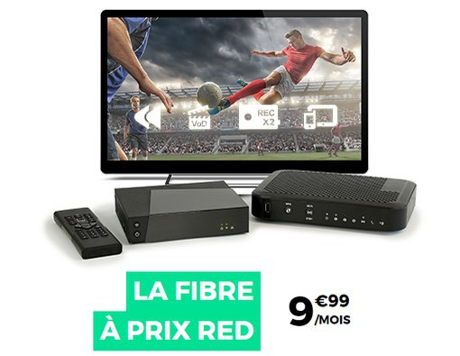 RED By SFR à 9.99€