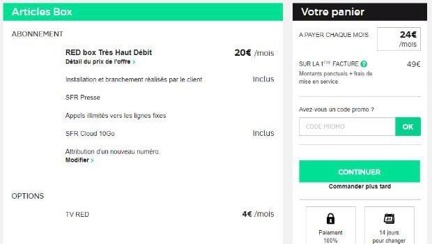 RED Box à 20€