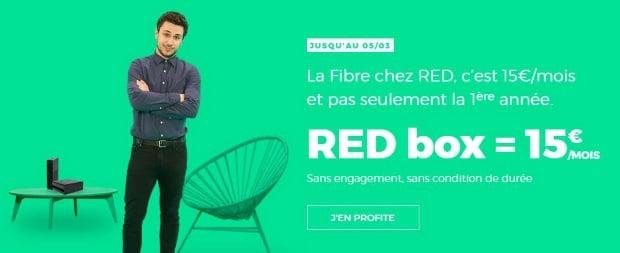 Abonnement Internet pas cher avec RED by SFR