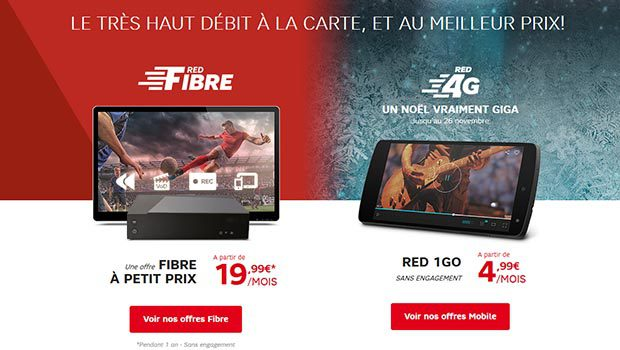 RED Fibre, avec Zive proposé en option
