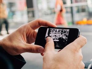 regarder tv smartphone