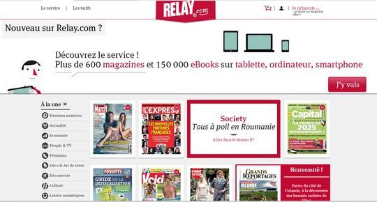 Relay.com est l'autre kiosque numérique de référence