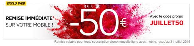 remise 50euros juillet50