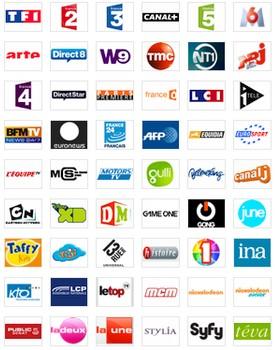 les chaînes Replay TV
