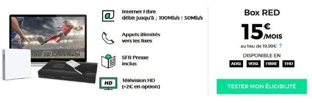 Abonnement Internet pas cher : RED fibre, câble ou ADSL