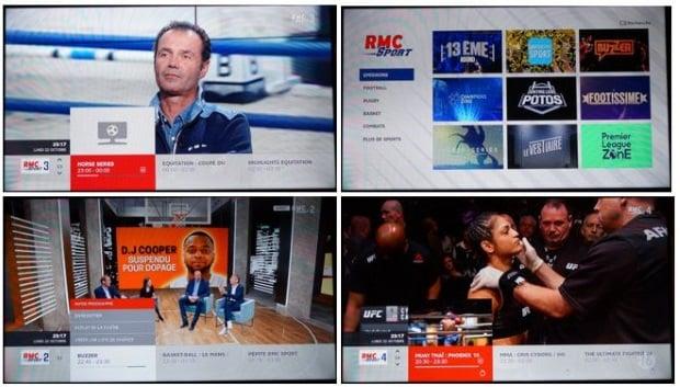 RMC Sport avec une box Internet SFR