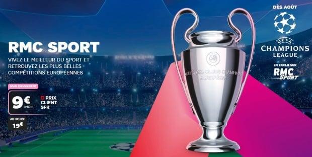 SFr : lancement de RMC Sport