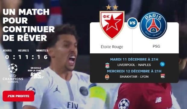 promo abonnement RMC Sport