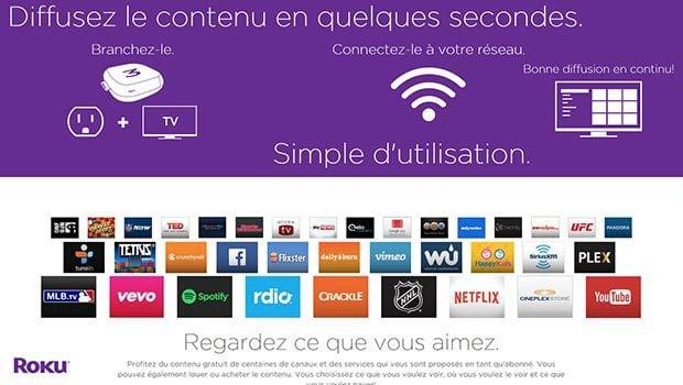 Les services diffèrent selon les pays mais on retrouve une base commune avec YouTube, Netflix…