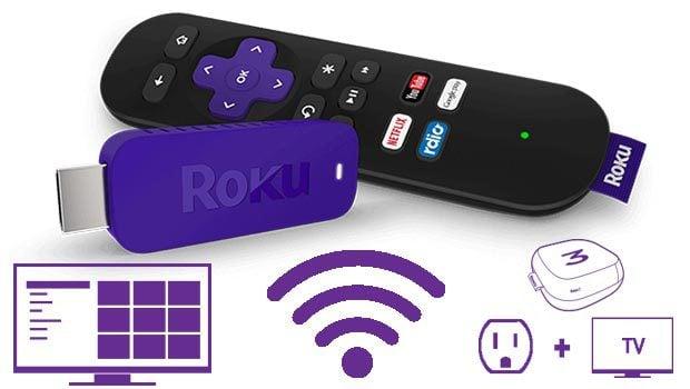La télécommande Roku TV intègre un micro