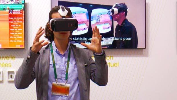 La réalité augmentée s'invite à Roland Garros