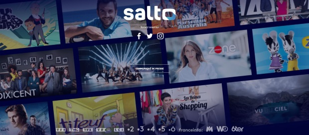 Service de streaming Salto