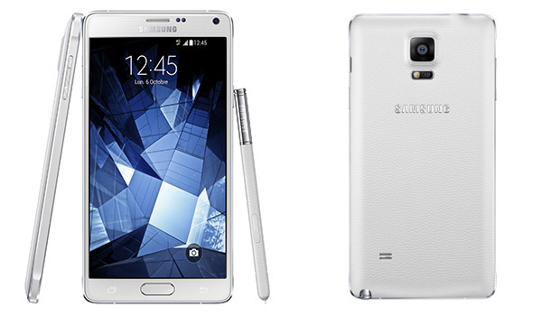 Samsung Galaxy Note 4 : plusieurs coloris, mais les noirs et blancs sont les plus réussis
