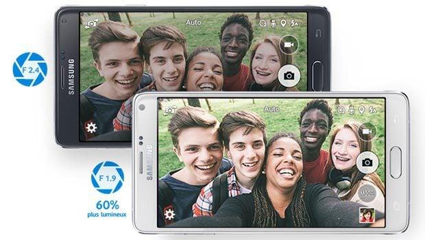 Samsung Galaxy Note 4 : photos en 16 mégapixels et vidéos en 4K