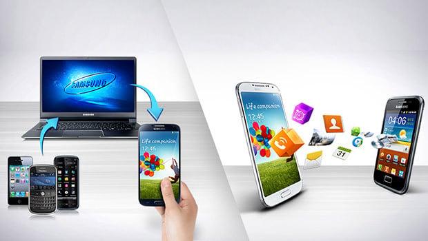 Samsung SmartSwitch :l'application gratuite pour transférer ses contenus sur Samsung Note 4