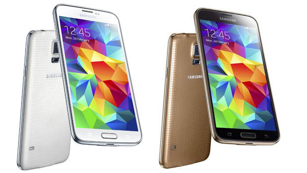 Samsung Galaxy S5 : 4 coloris, mais un dos plastique peu qualitatif
