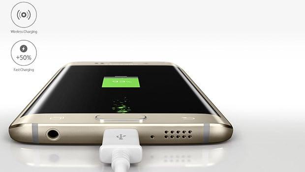 Samsung Galaxy S6 et S6 Edge, rechargement par induction