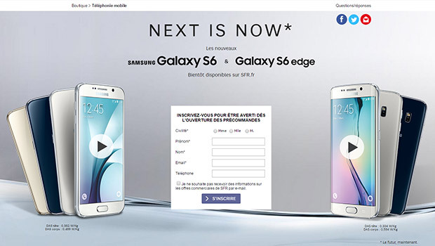 Samsung Galaxy S6 et S6 Edge, chez tous les opérateurs et boutiques