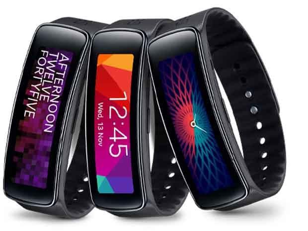 Samsung Gear Fit : bracelet connecté traqueur et fitness