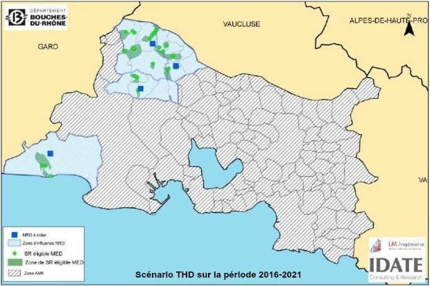 Le plan THD des Bouches-du-Rhône