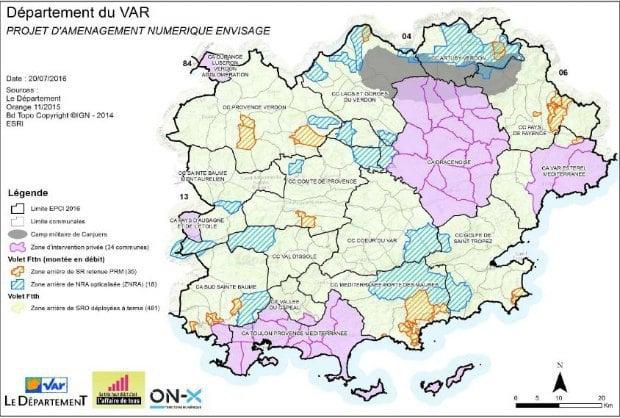 Le Var présente son SDTAN à France THD