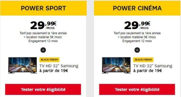 SFR : abonnements Internet à prix promotion à vie