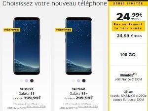 Galaxy S8 à moitié prix